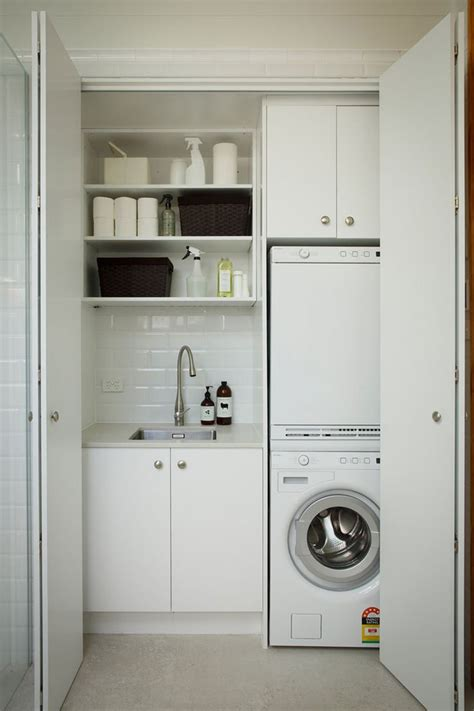 Best 25 Small Laundry Closet Ideas On Pinterest Laundry Laundry Hers For Small Spaces