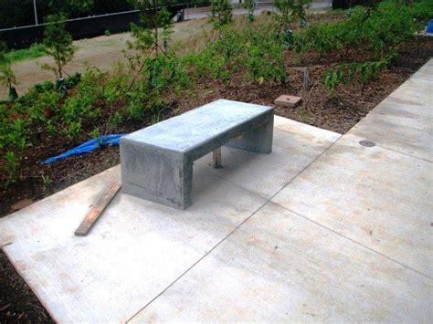 how to make a concrete garden bench how to build a concrete garden bench diy projects for everyone
