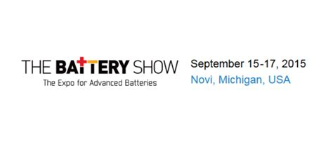 show novi gamry to attend the battery show