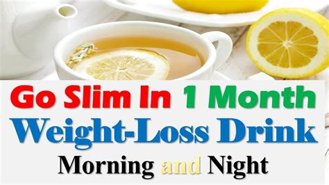 Lose Weight With Slim9 by Go Slim In One Month Weight Lose Drink Morning And