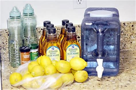 Detox Diet Lemon Juice Maple Syrup Cayenne Pepper by Master Cleanse Recipe