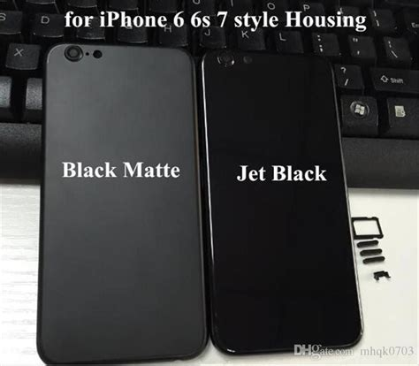 Housing Iphone 5s Like Iphone 7 Jet Black Langkaa Booss 2018 iphone 7 style housing for iphone 6s 6s plus jet