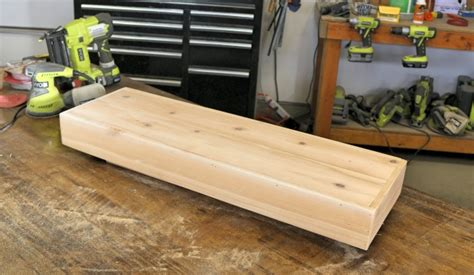 how to build wood shelves diy wood floating shelf how to make one