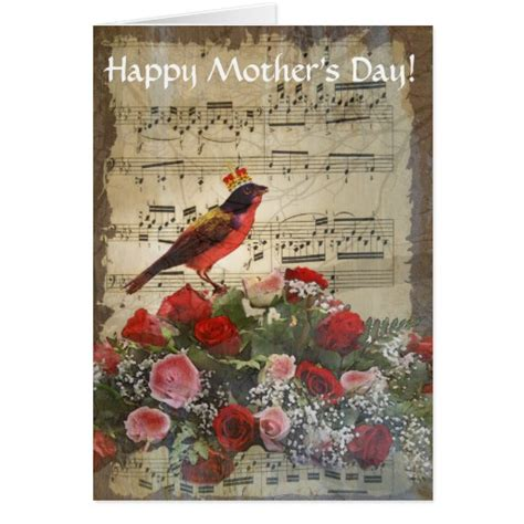 vintage day cards vintage collage mothers day card zazzle