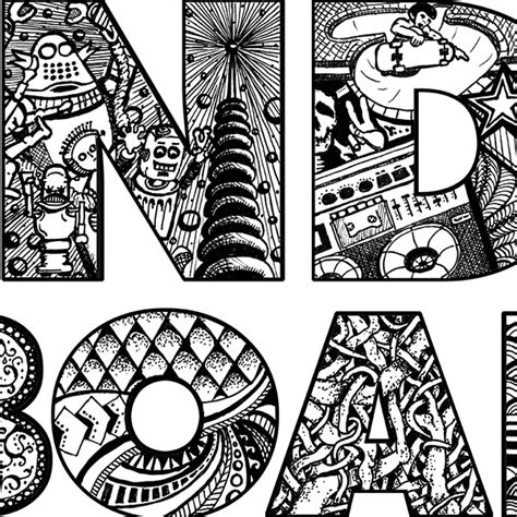 doodle indo indo board doodle caign on behance