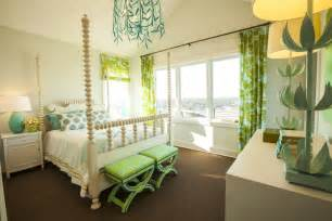 Turquoise and green girl s room contemporary girl s room