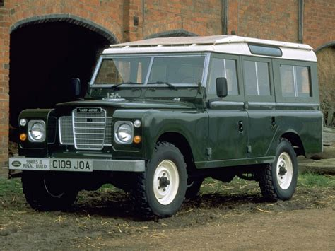 land rover series iii the history of land rover