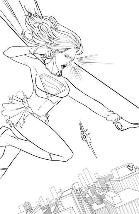 supergirl coloring pages supergirl coloring pages best coloring pages for kids