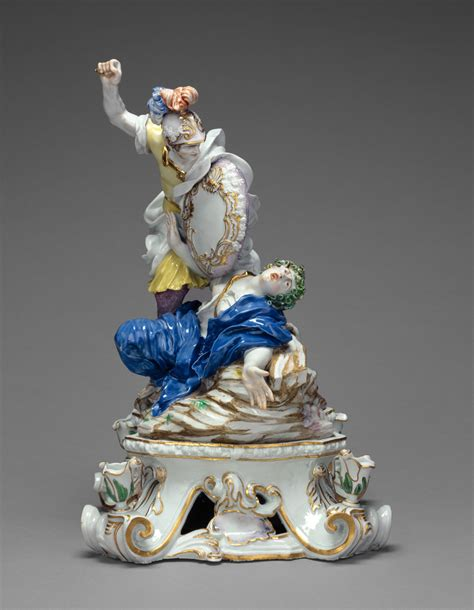 doccia porcelain mercury and argus and perseus and medusa getty museum
