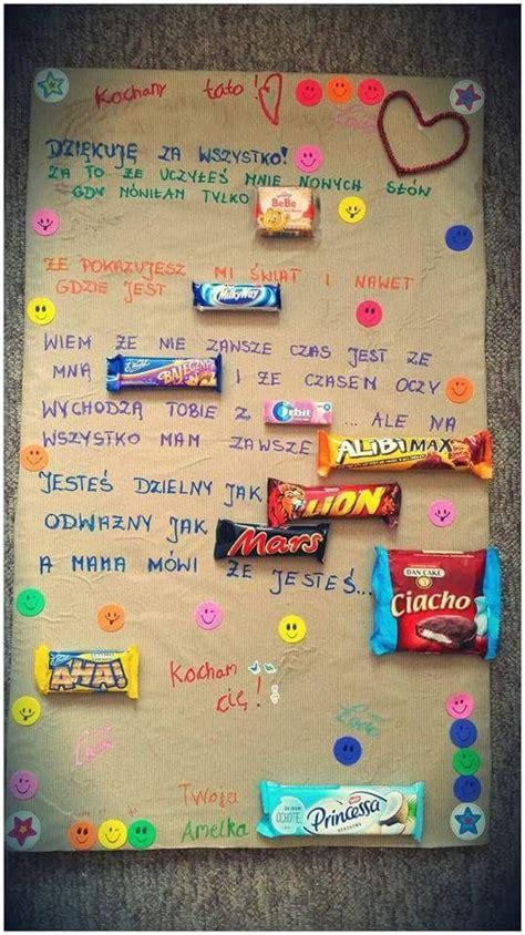 Plakat Z Batonami by Małe Co Nieco Jako Prezent Tak Dessins