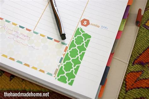 the handmade home printable planner free printable planner calendar 2014 the handmade