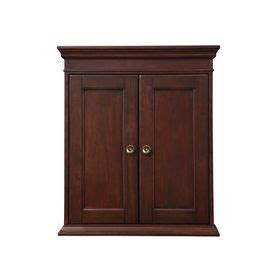 shop allen roth ketterton 33 in h x 24 in w cream lowes allen and roth wall cabinet mf cabinets