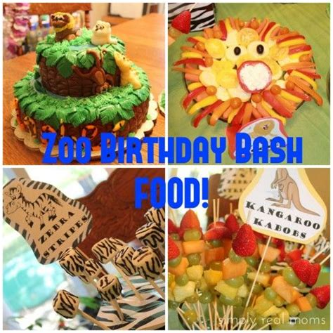 zoo themes party zoo birthday party food ideas diy crafts parties