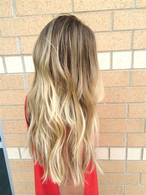 blonde hair with low low maintenance blonde hair with balayage d highlights