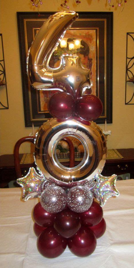 Ea Decorate Happy Birthday Balloon best 25 40th birthday centerpieces ideas on