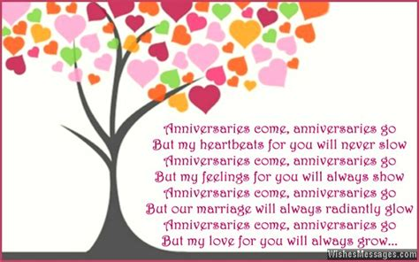 Wedding Anniversary Card Rhymes by Anniversary Poems For Happy 1st Anniversary