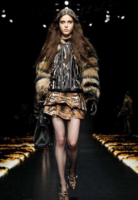 Changes For Cavalli Style It by Roberto Cavalli Fall 2012 Rtw Collection