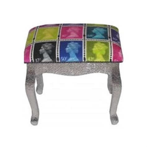 funky ottomans uk funky royal mail footstool fabulous footstools pinterest
