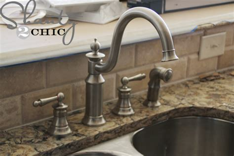 Faucet Construction by New Faucets House Update Shanty 2 Chic