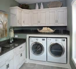 Laundry Room White Cabinets White Washed Furniture And Interiors That Inspire