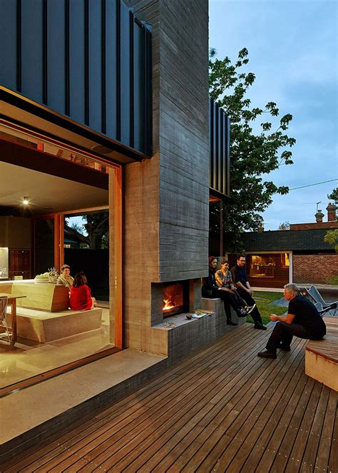 melbourne home with timber screen by make