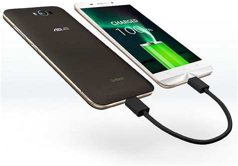 Lenovo Powerbank 5000mah Gold by Asus Zenfone Max With 5000mah Battery Launched At Rs