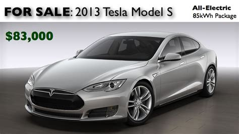 Tesla For Sale Model S For Sale 2013 Tesla Model S With 85 Kwh Package