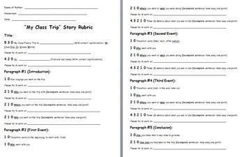 Essay On Field Trip by Class Field Trip Essay Teac By Bethany Holley Teachers Pay Teachers