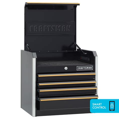 craftsman 26 4 drawer tool chest craftsman 26 inch 4 drawer top chest black
