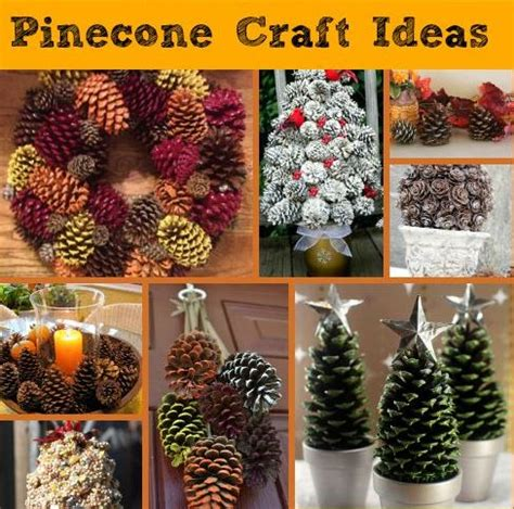 pine cone craft ideas  festive fall decorating saving