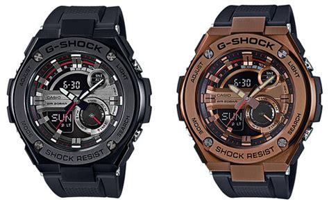 Casio Gshock Gst 210b 4a g shock g steel gst 200cp and gst 210b watches g central
