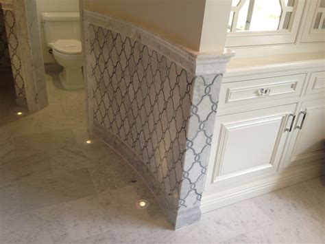 marble wainscoting marble wainscot ideas for