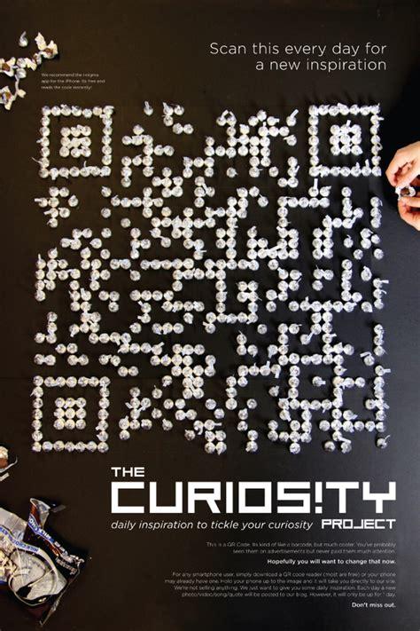 poster design with qr code 40 epic qr code art