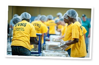 packing times : feed my starving children