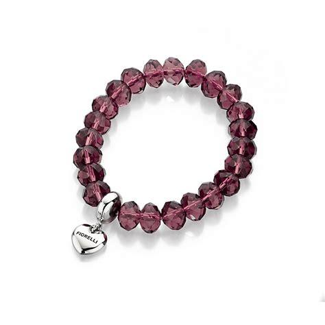 purple beaded bracelet fiorelli purple beaded bracelet h samuel