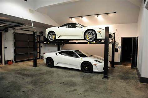 Car Storage Garage car lift storage rack garage cars