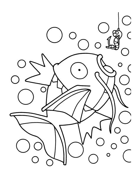 pokemon coloring pages magikarp free coloring pages of legendary pokemon