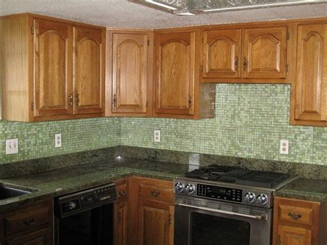 green glass tiles for kitchen backsplashes unique kitchen backsplash ideas you need to about