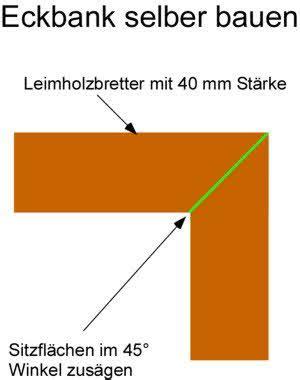 Ecksitzbank Selber Bauen by Eckbank Selber Bauen Anleitung