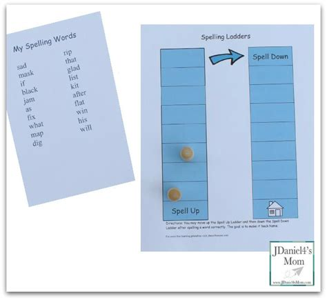 printable board games for spelling free spelling games printable spelling ladders