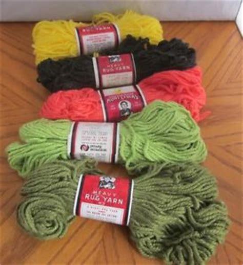 lydia s rug yarn lydia s rug yarn lot of 5 skeins 70 yards per skein ebay