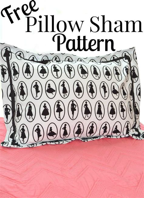 sewing pattern euro pillow sham free pillow sham pattern favecrafts com
