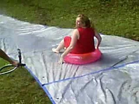 how to make a water slide in your backyard tarps make the best water slides youtube