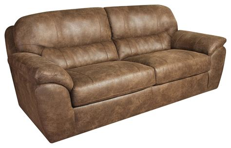 corinthian leather sofa casual faux leather plush sofa by corinthian wolf and