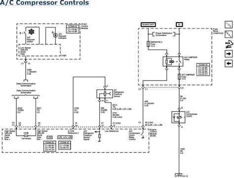 2007 hummer h3 air conditioning system wiring diagrams 07 impala a c compressor wiring diagram wiring diagram