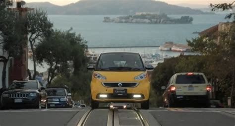 mercedes smallest car smart fortwo the smallest car in america feels so big