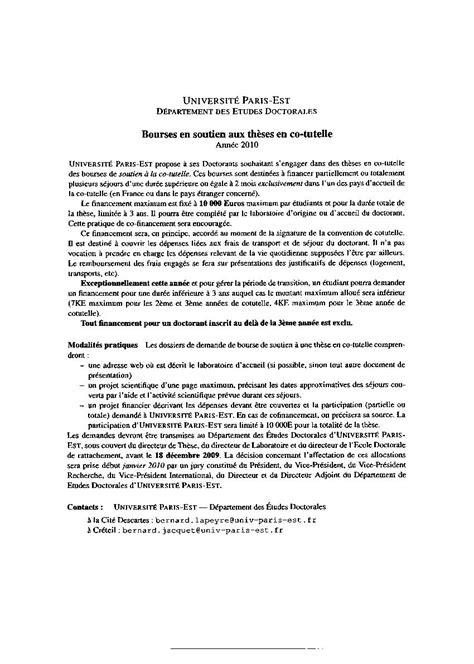 Lettre De Recommandation Pour Obtenir Une Bourse Exemple Lettre De Recommandation These De Doctorat