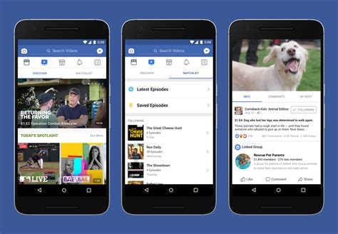 fb watch introducing watch a new platform for shows on facebook