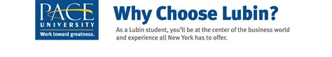 Why You Choose Mba In Finance by Why Choose Lubin Lubin School Of Business