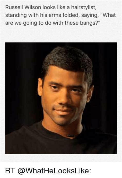 Russell Wilson Meme - 25 best memes about arms folded arms folded memes